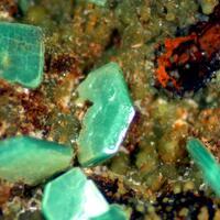 Chalcosiderite & Metatorbernite