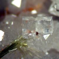 Fluorite Olivenite & Bariopharmacosiderite
