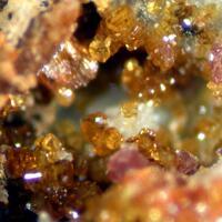 Cyrilovite Leucophosphite Laueite & Goethite
