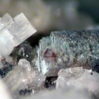 Gadolinite-(Y) & Fluorite