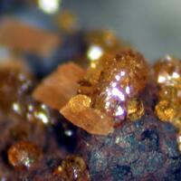 Cyrilovite Leucophosphite & Goethite