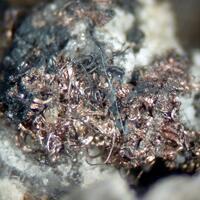 Silver Acanthite & Fluorite