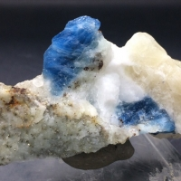 Afghanite With Pyrite & Calcite