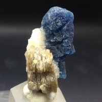 Afghanite With Calcite & Muscovite