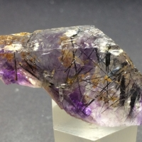 Fluorite With Riebeckite Inclusions