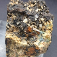 Monazite-(Ce) With Hollandite