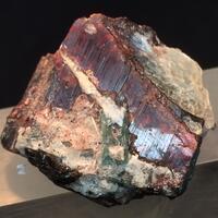 Tantalite-(Mn) With Tourmaline & Muscovite