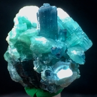 Tourmaline With Muscovite