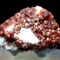 Spessartine With Feldspar