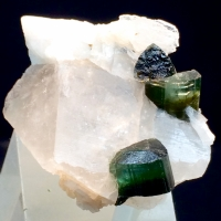 Elbaite With Quartz & Cleavelandite