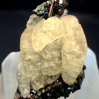 Calcite Melanite & Aegirine