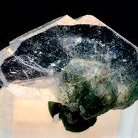 Apatite With Actinolite Inclusions