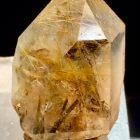 Quartz With Astrophyllite & Riebeckite Inclusions