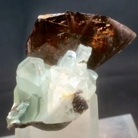 Axinite-(Fe) With Adularia
