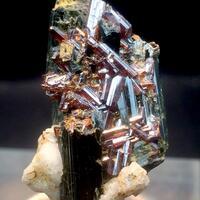 Rutile Actinolite & Feldspar