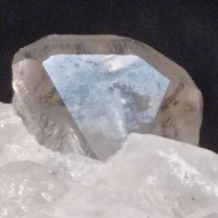 Topaz With Quartz