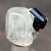 Goshenite With Schorl