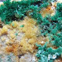 Malachite Mimetite & Wulfenite