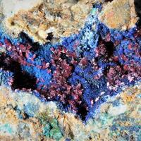 Azurite & Erythrite