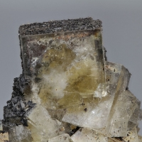 Fluorite With Siderite