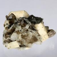 Smoky Quartz Albite & Microcline