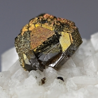 Sphalerite With Chalcopyrite On Dolomite