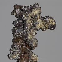 Native Copper With Cuprite
