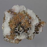 Calcite Siderite Pyrite & Quartz