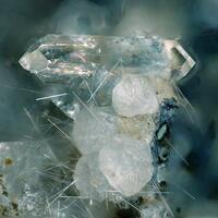 Phillipsite Chabazite & Calcite