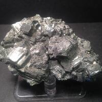 Bournonite With Pyrite & Sphalerite