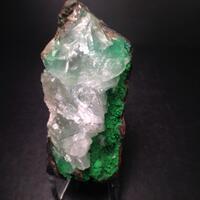 Conichalcite With Calcite