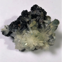 Beryl Tourmaline & Fluorite