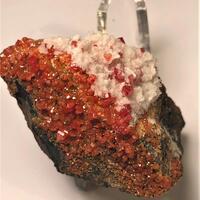 Vanadinite & Calcite