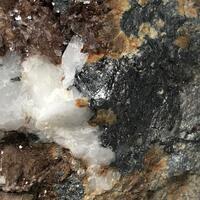 Freibergite With Siderite