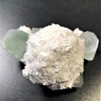 Mordenite With Apophyllite
