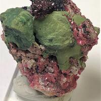 Kolwezite With Cobaltoan Calcite & Goethite