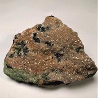 Smithsonite With Mottramite & Calcite