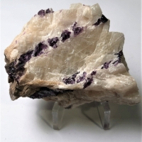 Fluorite In Calcite
