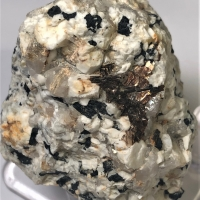 Astrophyllite With Arfvedsonite & Microcline