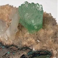 Apophyllite & Stilbite On Heulandite