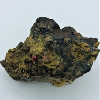 Miguelromeroite With Pharmacosiderite