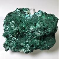 Malachite & Chrysocolla On Calcite