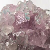 Cobaltoan Calcite With Chrysocolla & Calcite