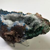 Shattuckite Malachite Chrysocolla & Quartz