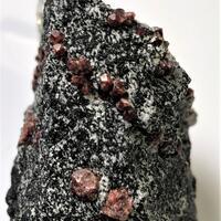 Almandine In Gneiss With Feldspar