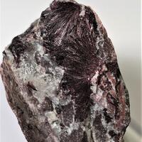 Piemontite With Quartz