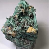 Emerald Scheelite & Pyrite