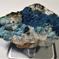 Shattuckite With Chrysocolla Goethite & Calcite