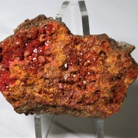 Chromian Wulfenite
