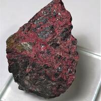 Cinnabar With Stibnite